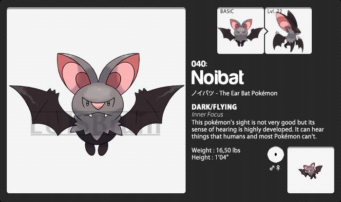 040: Noibat by LuisBrain