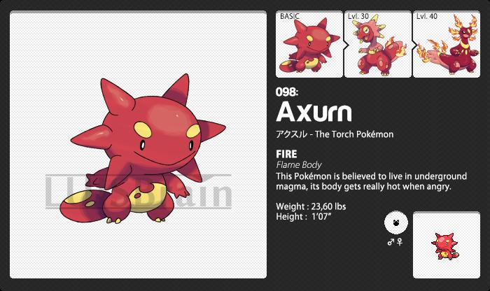 098: Axurn by LuisBrain