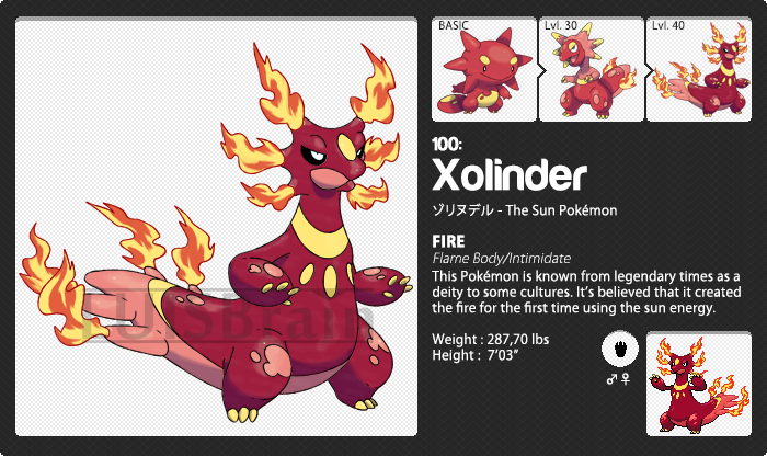 100: Xolinder by LuisBrain