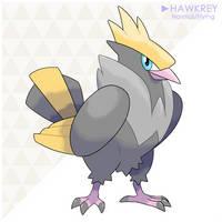 143: Hawkrey by LuisBrain