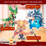 Luwan Starters 1st Stage Evolutions!