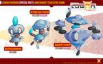 Bunchorok's Evolved forms!