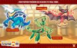 Luwan Starters FINAL STAGE Evolutions!