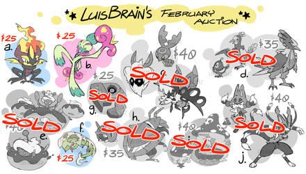 FEBRUARY DESIGN SALE by LuisBrain