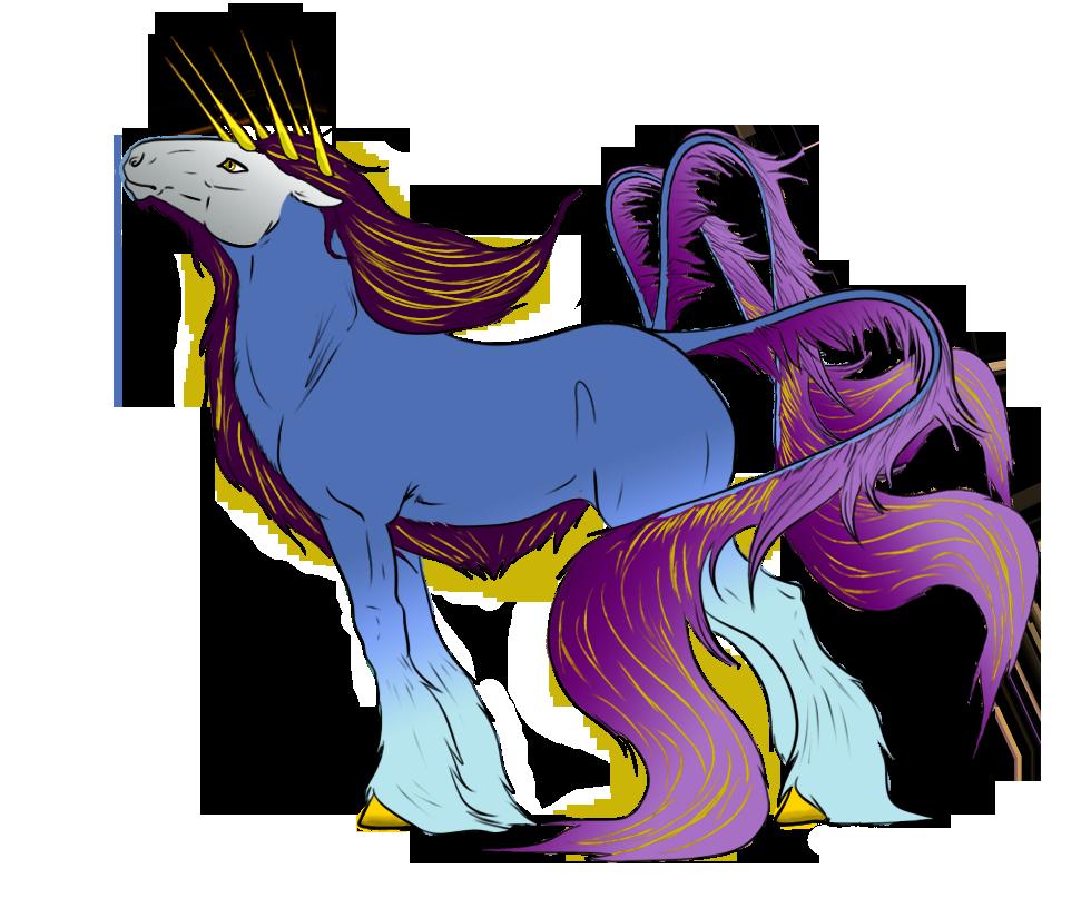Capra Unicornio by Okami-Norino