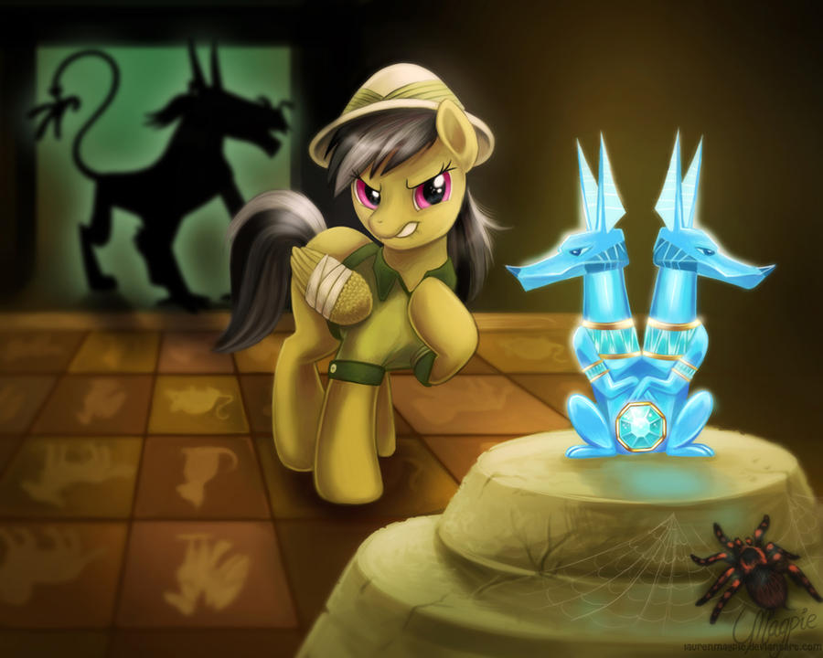 Daring Do and the Quest for the Sapphire Stone
