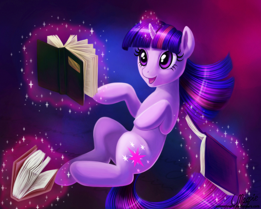 Books are Magic by LaurenMagpie