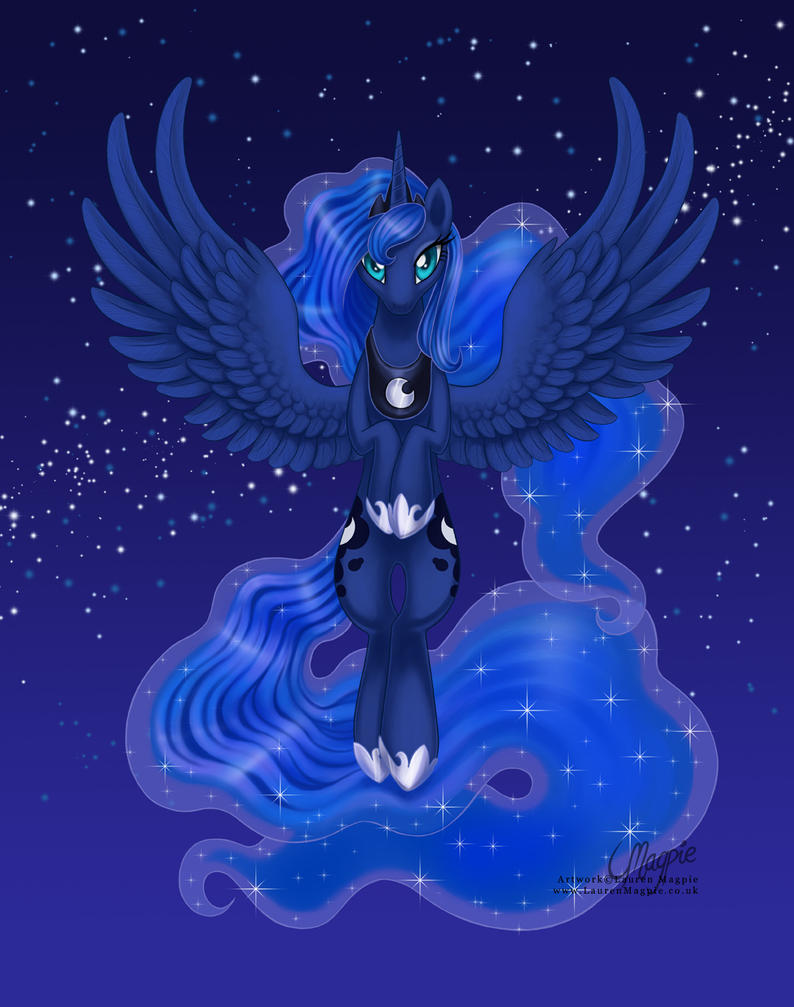 Princess Luna: Raising the Night by LaurenMagpie