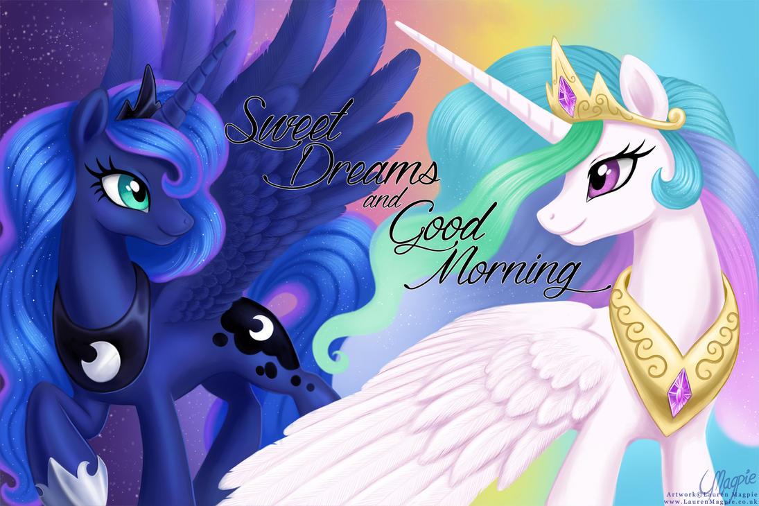 Sweet Dreams and Good Morning by LaurenMagpie