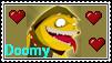 My Doomy stamp. OvO by ShadowGirl7
