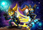 Ratchet and Clank 2 Going Commando Fan Art