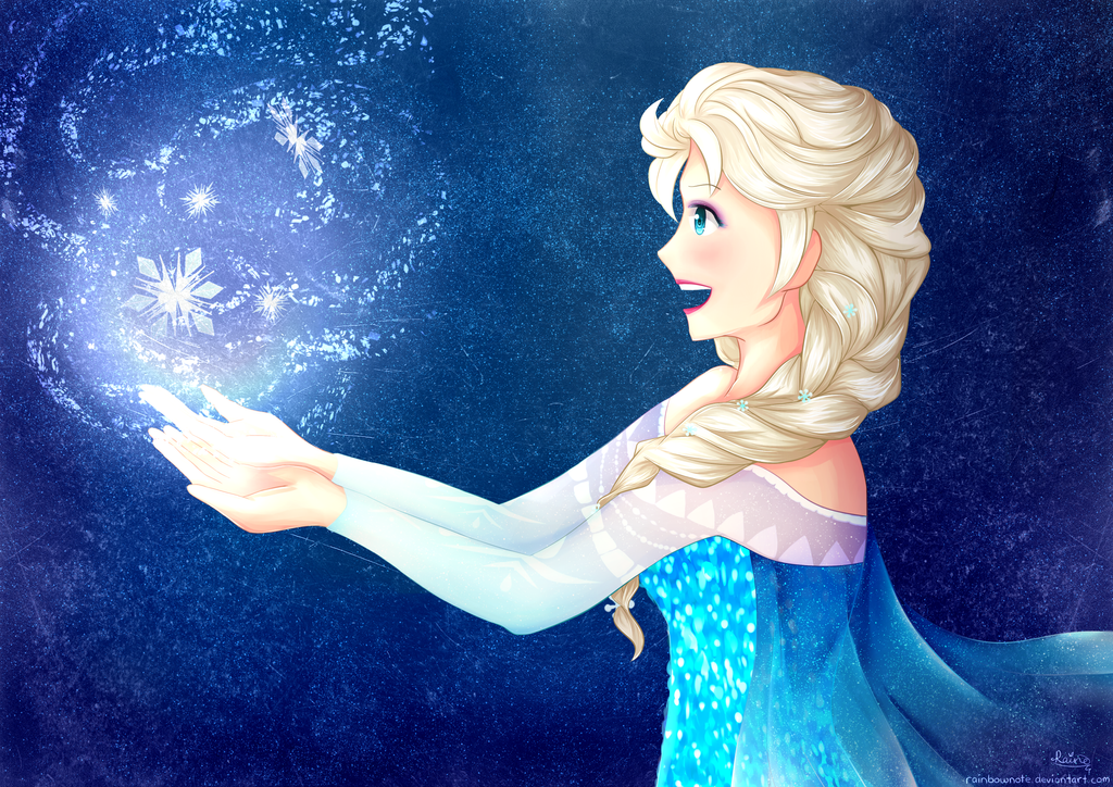 Elsa the Snow Queen by rainbownote
