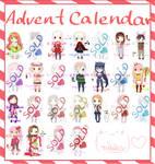 Advent Calendar Adopts [12 OPEN |$8/points]