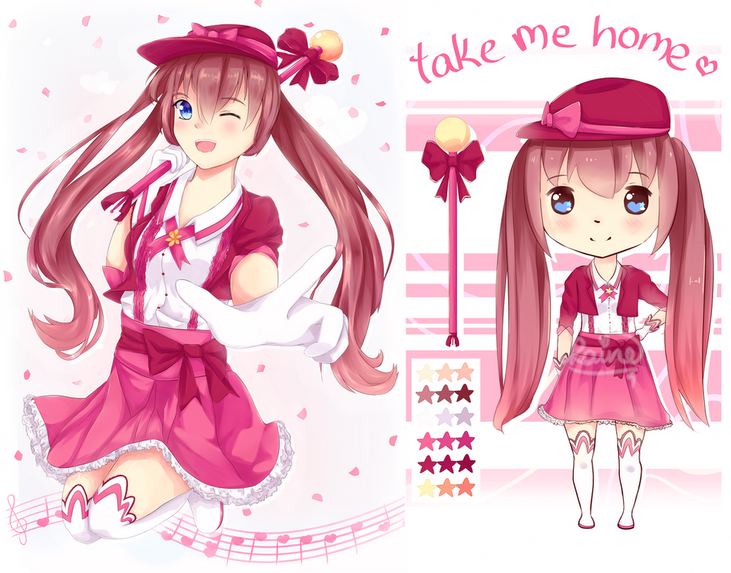 MAGICAL GIRL ADOPT: set price $8 / 800 points by rainbownote