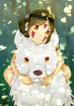 I will carry you [Princess Mononoke: San and Moro]