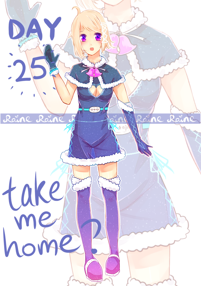 ADVENT CALENDAR ADOPTS #25 [SB $25 / 2500p] OPEN by rainbownote