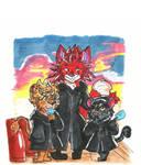 Zootopia x KH - Clock Tower Trio by maiitan