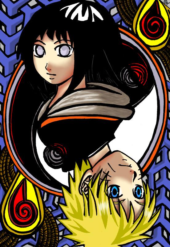 NaruHina: El Ying y el Yang NaruHina___Yin_and_Yang_color_by_Onihikage