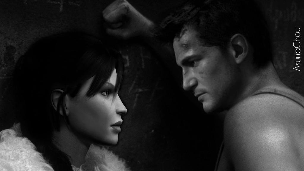 Lara Croft And Nathan Drake: Lara Croft And Nathan Drake 9 By AsunaChou On DeviantArt