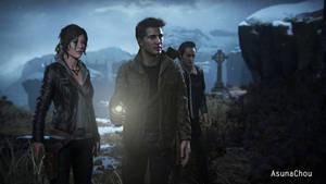 Cross Over - Lara Croft and Nathan Drake (10) by AsunaChou