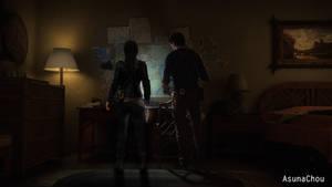 Cross Over - Lara Croft and Nathan Drake (14) by AsunaChou