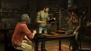 Cross Over - Lara Croft and Nathan Drake (19) by AsunaChou