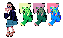 Peridotsssss And Eleven by echobone