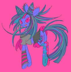 IBUKI but shes a pony by echobone