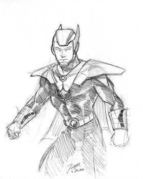 Starlord sketch
