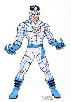 30 Characters in 30 Days Challenge #2: Frost Tiger