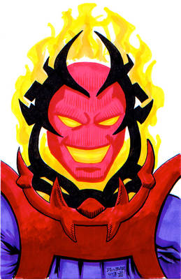 D is for the dread Dormammu!