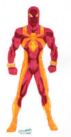 30 Characters in 30 Days #5: Spider-Blaze