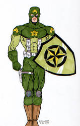 30 Characters in 30 Days #26: Corporal Courage