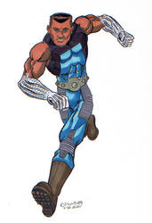 30 Characters in 30 Days #29: Steel Fist