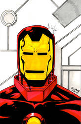 I is for Iron Man