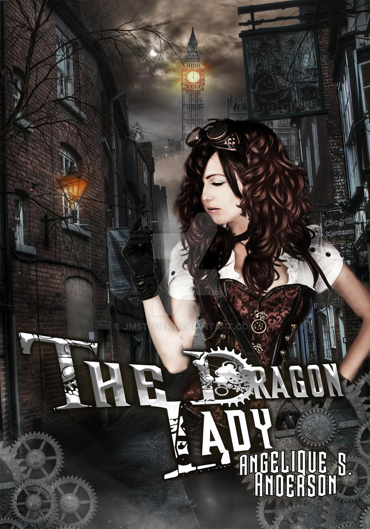 The Dragon Lady cover design by JmSteger