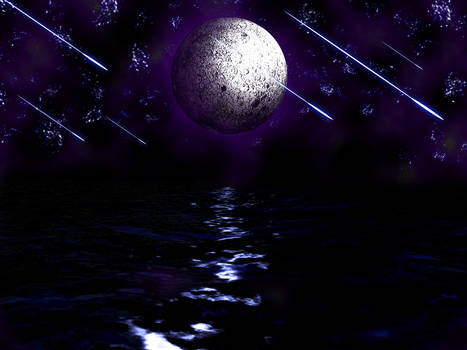 Moonlight escape.