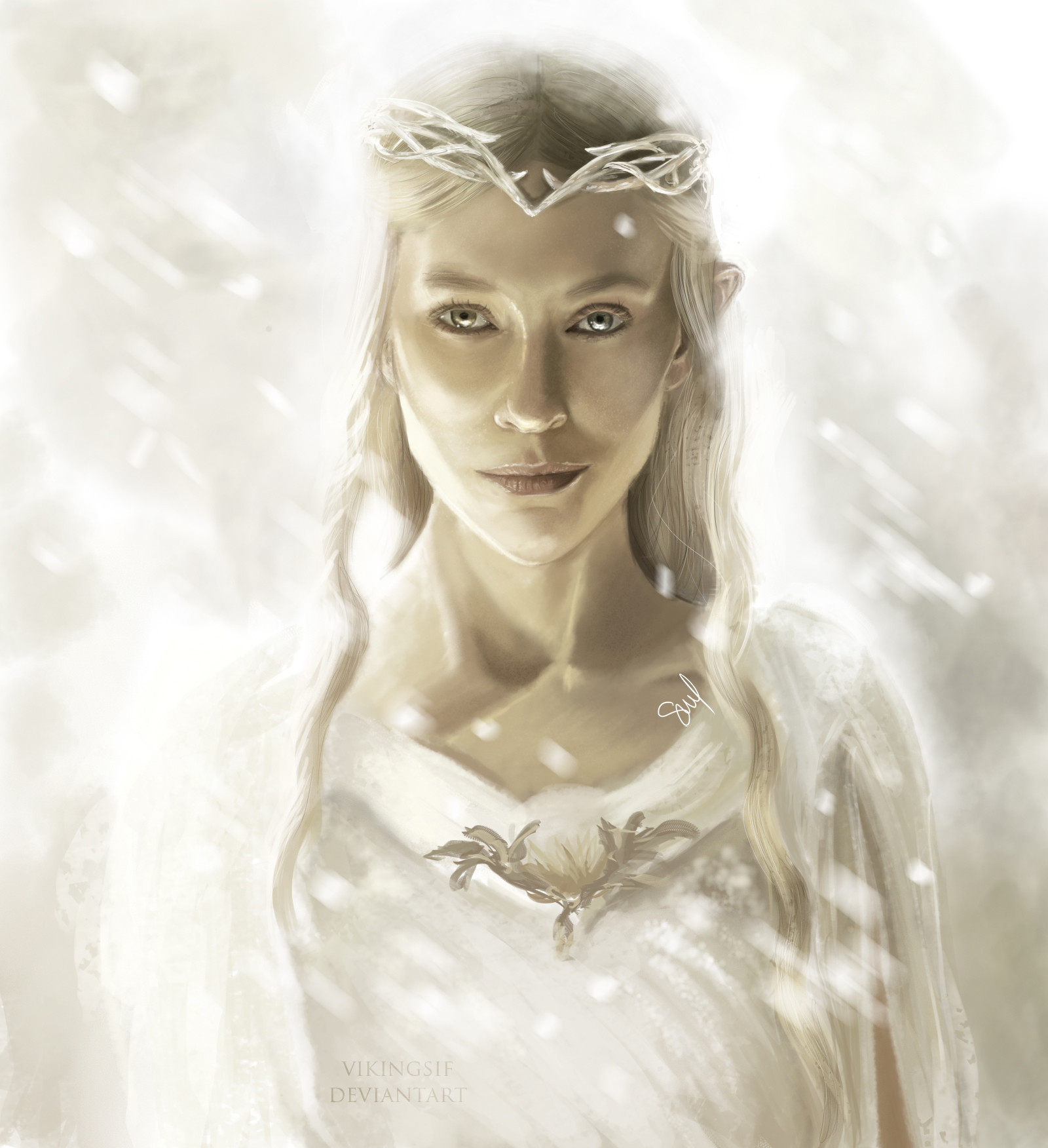 Galadriel ~ The Hobbit by VikingSif