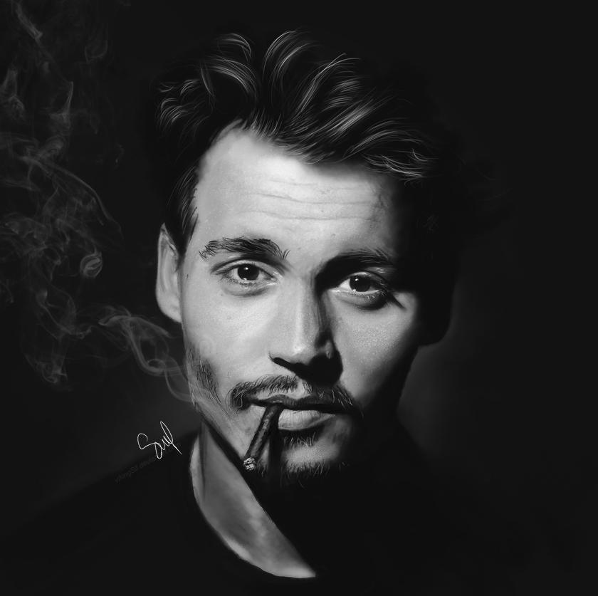 Johnny Depp I by VikingSif