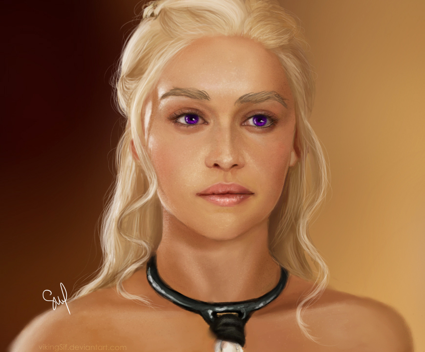 Mother of Dragons II by VikingSif