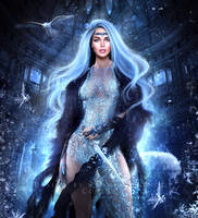 High Fantasy Character (Book Cover Art)