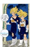 Goku and Gohan time Room by Riseofbungle