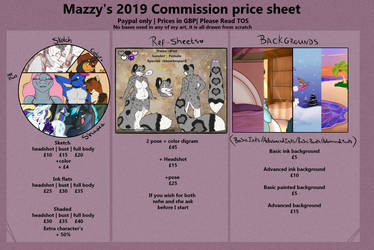 Price sheet 2019 by grumpygriffcreation