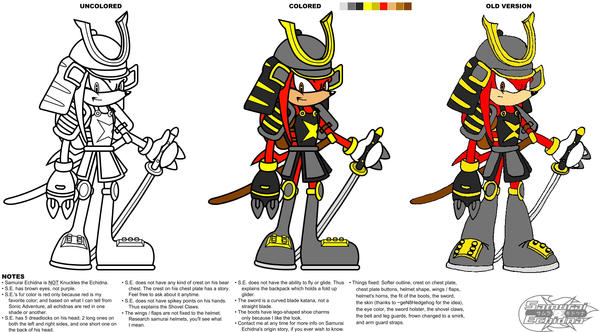 S.E. sketches - Updated by SamuraiEchidna