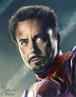 Tony Stark by YashinMaru