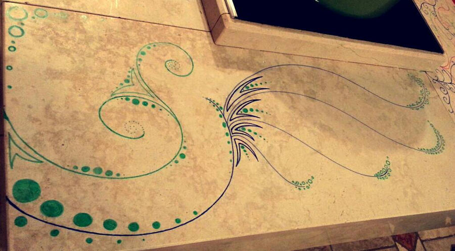 Sur la table de la cuisine n1 by lepsyjack on deviantart for Art de la table