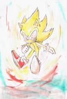 Fleetway Sonic by zjedz-goffra