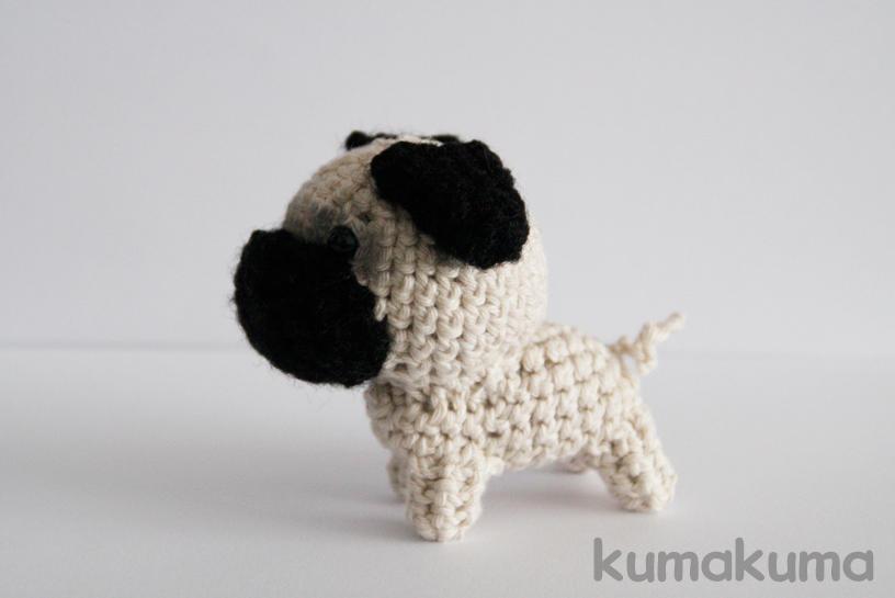 Pug Dog Crochet Pattern Lots Of Ideas Video Tutorial | 545x816
