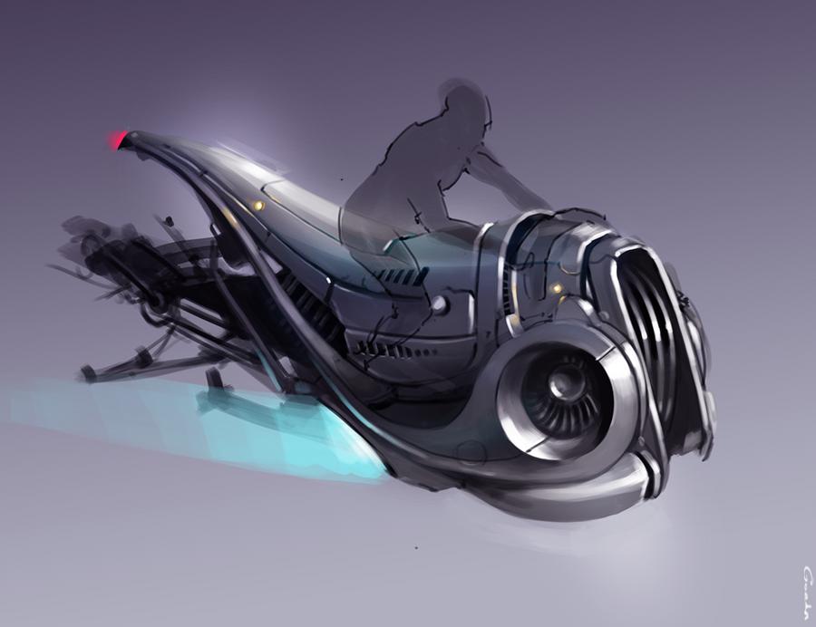 Space bike by I-Gorda