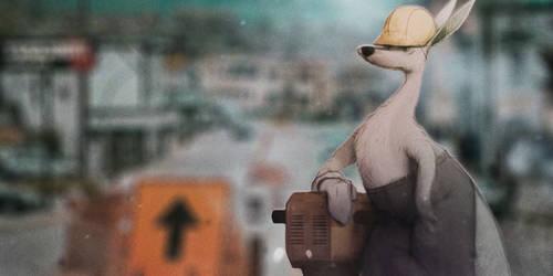 Kangaroo-worker